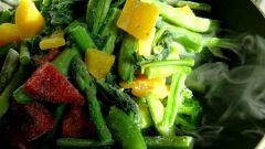 Как приготовить салат из стручковой фасоли