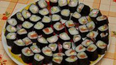 Как готовить суши