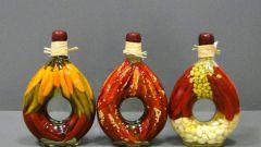 Как сделать декор бутылки своими руками