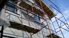 Как оштукатурить фасад