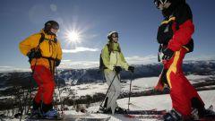 Как научиться катанию на лыжах