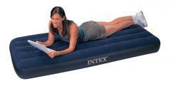 How to glue an inflatable mattress Intex
