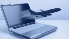 How to book e-ticket on the plane