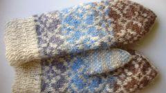Как вязать носки и варежки