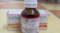Как использовать салициловую кислоту