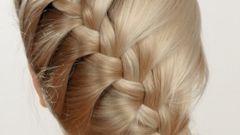 Как заплести красиво волосы средней длины