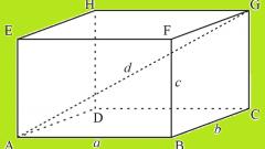 Как найти объем прямоугольного параллепипеда