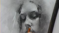 Как начать рисовать портрет