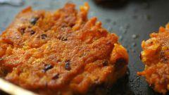 Как готовить морковные котлеты