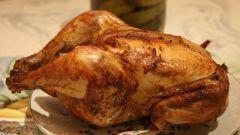 Как запечь цыпленка в духовке