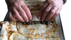 Как приготовить фаршированные блины