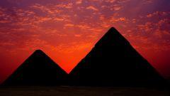 Как нарисовать египетскую пирамиду