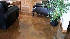 Как делать бетонные полы