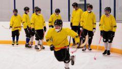 Как тренировать играть в хоккей