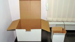 Как найти объем коробки