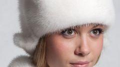 Как почистить шапку из белой норки