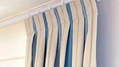 Как закладывать складки на шторах