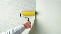 Как оклеить стены стеклообоями
