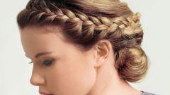 Как сделать греческую косу
