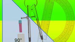 Как начертить прямоугольный треугольник