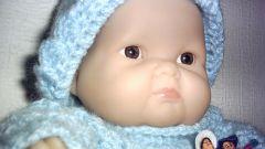 Как связать шапку для куклы