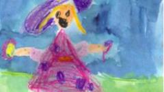Как научить малыша рисовать