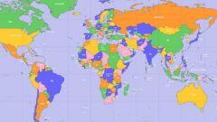 Как границы государств наносят на географические карты