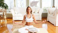 Йога дома: как организовать занятия