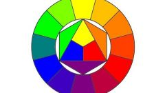How to draw color circle