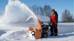 Как выбрать снегоуборочную технику