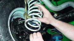 Как менять пружины на ВАЗ