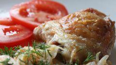 Как запечь куриные бедрышки