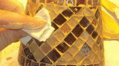 Как выложить стеклянную мозаику