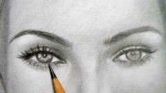 Как рисовать лицо карандашом
