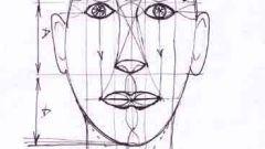 Как рисовать голову человека