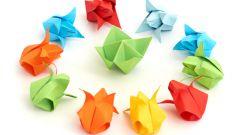 Как сделать оригами-цветы