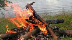 Как самостоятельно разжигать костер