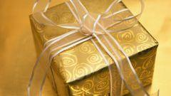 Как упаковать подарок в бумагу