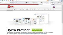 How to make Opera the default browser