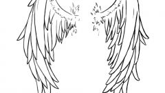 Как сделать крылья к костюму