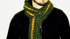 Как носить шарф мужчинам