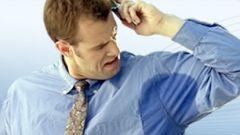 Как отстирать пятна пота