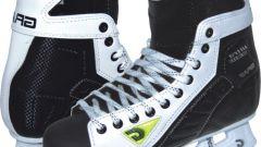 Как выбирать хоккейные коньки