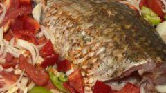 Как запечь рыбу в фольге