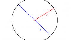 Как найти диаметр окружности