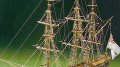 Как сделать модель корабля