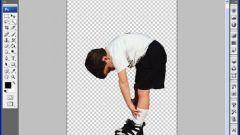Как вырезать человека в фотошопе
