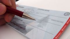 How to fill out a checkbook