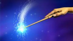 Как сделать волшебную палочку в домашних условиях