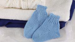 Как вязать пятку носка спицами